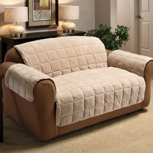Burnham Box Cushion Loveseat Slipcover