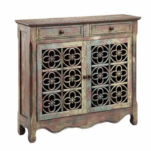 Stein World Cladius 2 Drawer 2 Door Accent Cabinet