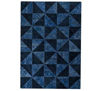 Buy luxury Tile Viviana Blue / Turquoise Area Rug ByHokku Designs