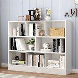Alicano Standard Bookcase by Ebern Designs