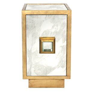 Savannah One Door End Table by Worlds Away