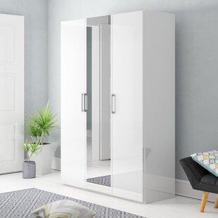 Ammiras 2 Door Wardrobe By Ebern Designs