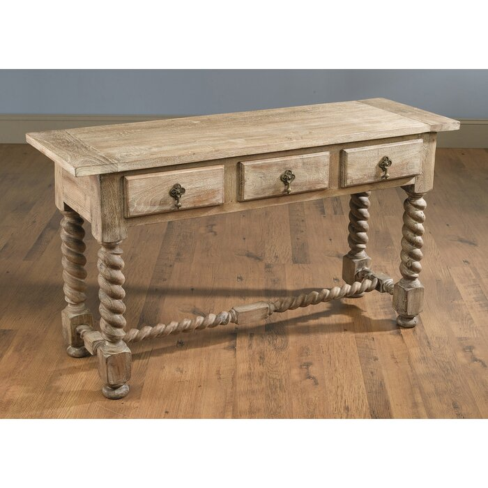 Geremia Barley Twist Console Table