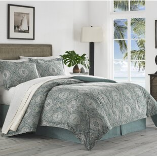 Tommy Bahama Home Turtle Cove 4 Piece Reversible Comforter Set
