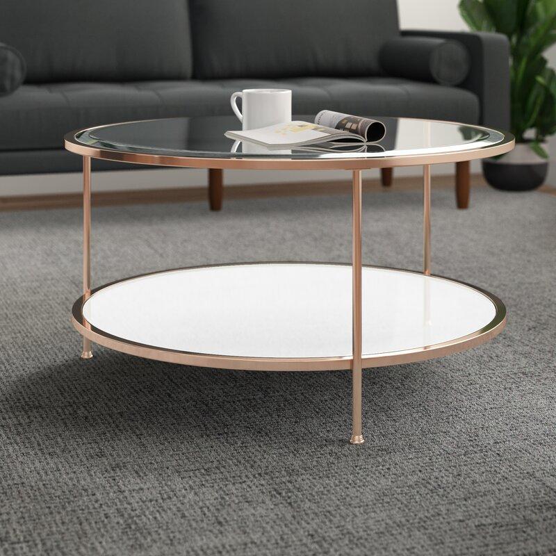 Jamiya 3 Legs Coffee Table With Storage