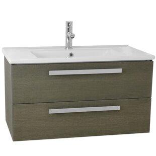 Dadila 33 Single Wall Mount Bathroom Vanity Set By Nameeks Vanities