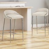 Wilsonville 26 Bar Stool (Set of 2) by Orren Ellis