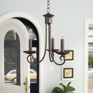 Astoria Grand Calafia 3-Light Candle Style Chandelier