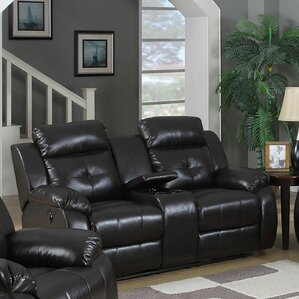 Hampton Electric Reclining Loveseat by Living In Style