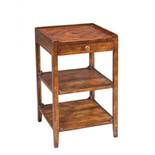 Savings Triple Shelf Occasional End Table BySarreid Ltd