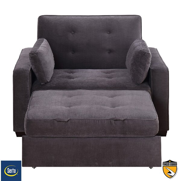 Attractive Serta Futons Serta Anderson Twin Convertible Chair U0026 Reviews   Wayfair