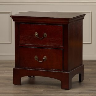 Darby Home Co Malvina 2 Drawer Nightstand