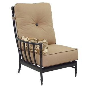 Provence Right End Patio Chair with Cushion