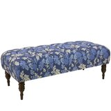 Lindsay Tufted Linen Upholstered Bench by Darby Home Co