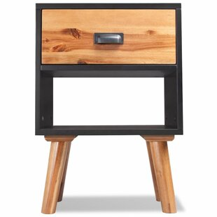 Wrought Studio Tanner 1 Drawer End Table