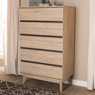 Wrought Studio Dan 5 Drawer Chest