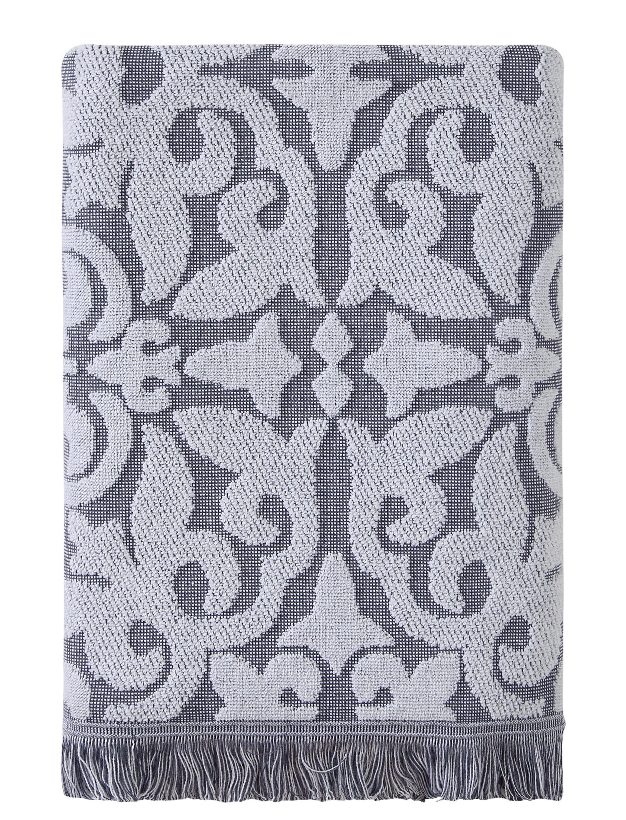 Taupe Go West Star Jacquard Bath Towel