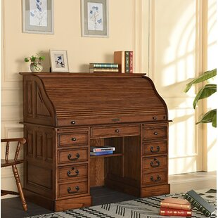 Solid Wood Secretary Desk