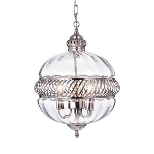 Darby Home Co Flannigan 3-Light Chandelier