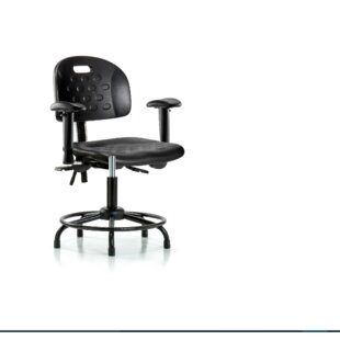 Symple Stuff Alice Round Tube Base Office Chair