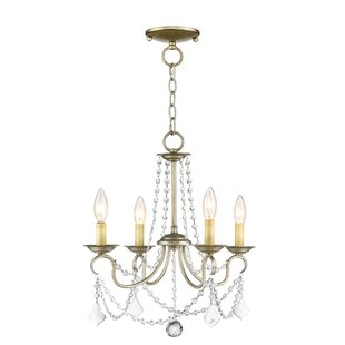 Willa Arlo Interiors Devana 4-Light Candle Style Chandelier