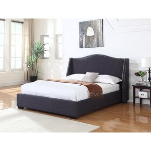 Upholstered Platform Bed by BestMasterFurniture