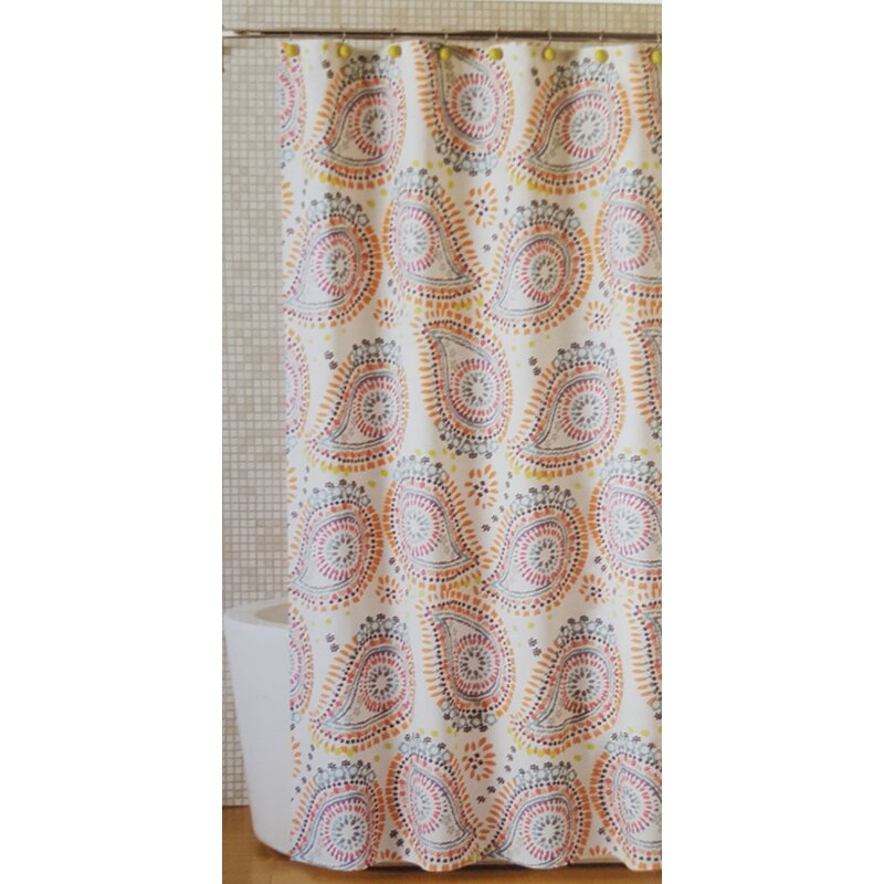 Bungalow RoseNevada Lagrimas De Mandala Shower Curtain