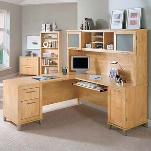 Chase Collection 70 Desk Home Office Suite by Red Barrel Studio