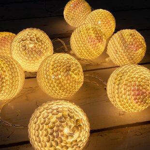 Tayla LED Fairy Light Globe Balls 10 Light Novelty String Lights