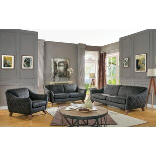 Affordable Charlotte Configurable Living Room Set by 17 Stories Reviews (2019) & Buyer's Guide