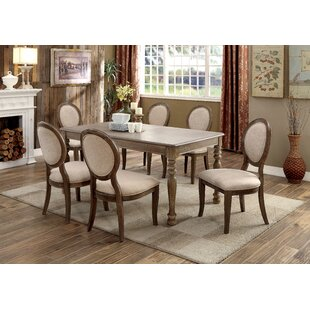 Bloomingdale 7 Piece Dining Set by One Allium Way Sale