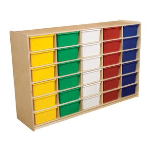 Bargain 30 Compartment Cubby By Wood Designs