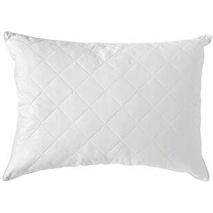 Quilted Natural Comfort Down Feather Standard/Queen Pillow by Sealy