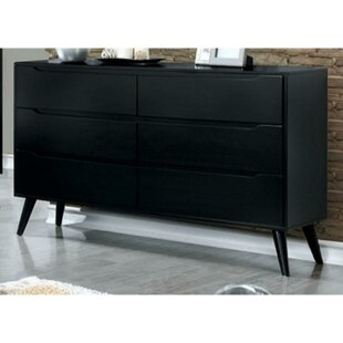 Isabela 6 Drawer Double Dresser