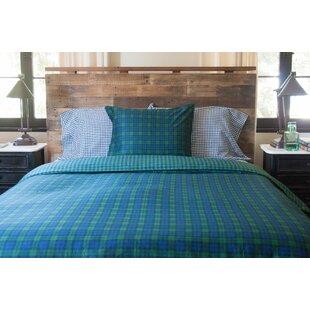Loon Peak Buell Cotton 3 Piece Reversible Duvet Cover Set