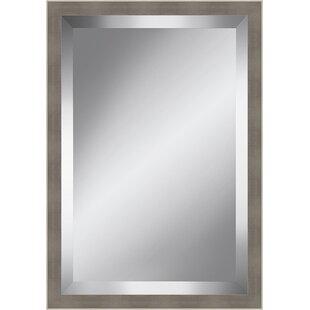 Ashton Wall Decor LLC Trends Metallic Beveled Plate Wall Mirror