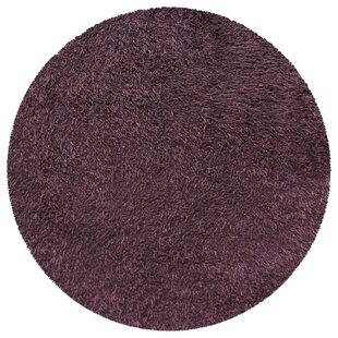 Blaisdell Handmade Shag Purple Area Rug by Winston Porter