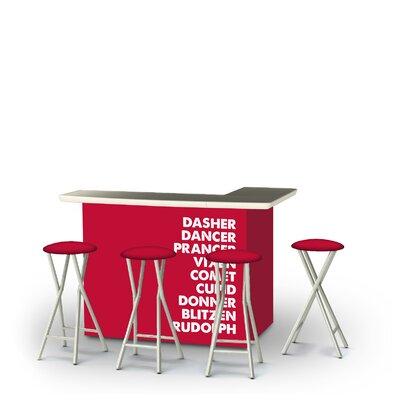 Wychwood Christmas Reindeer 5-Piece Bar Set by East Urban Home Great Reviews
