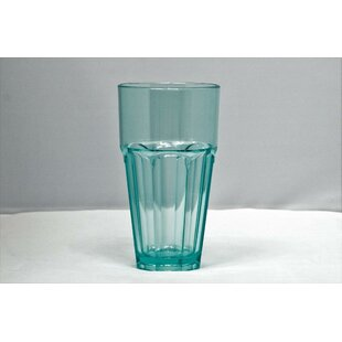 Middlewich 12 oz. Plastic/Acrylic Every Day Glasses (Set of 6)