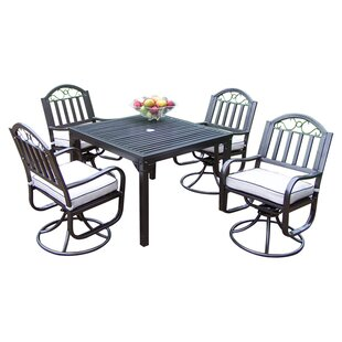 Lisabeth Dining Set with Cushions