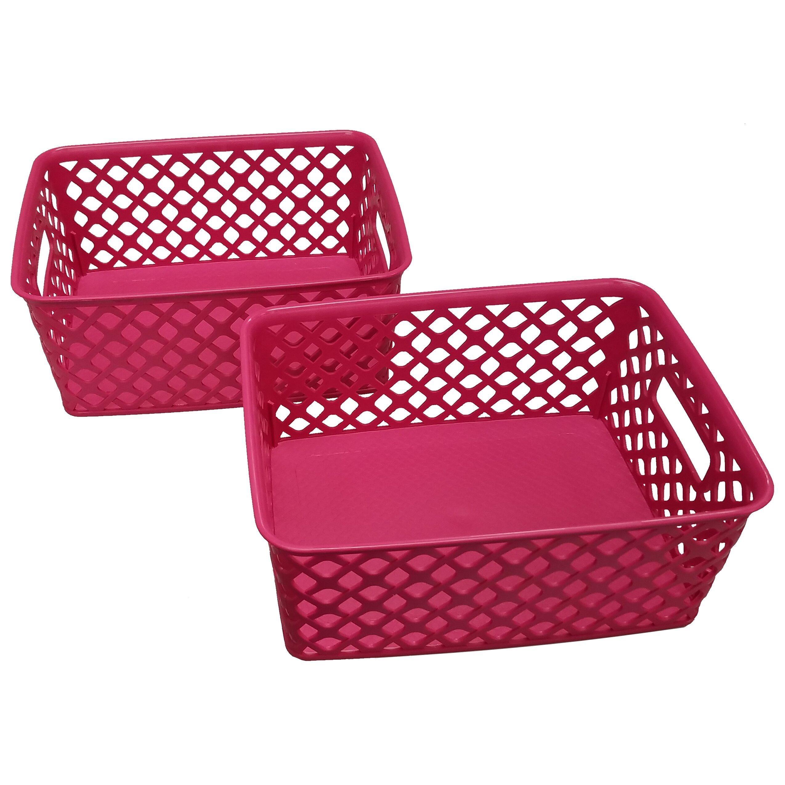 Rebrilliant Small Deco Plastic Basket