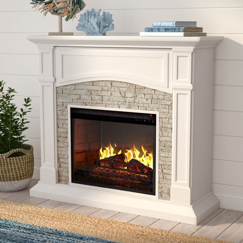 mod residence mid fireplaces black adamhosmer on small sale com modern pink retro electric century fireplace for