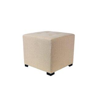 Kirschbaum Tufted Cube Ottoman