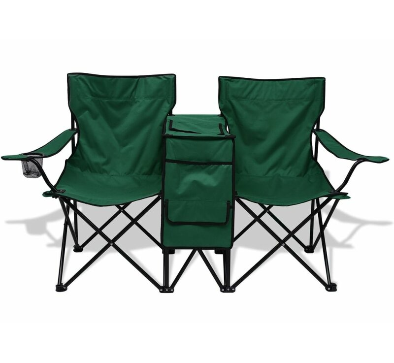 72 Outdoor Irving Double Camping Chair