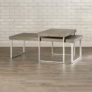 Mercury Row Asine 2 Piece Coffee Table Set