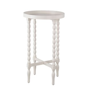 Haleema Solid Wood End Table By Bungalow Rose