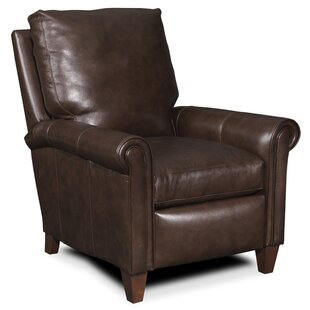 Haskins 3-Way Leather Manual Recliner by Bradington-Young