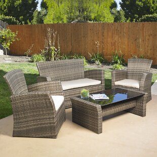 Redondo 4 Piece Sofa Set with ..