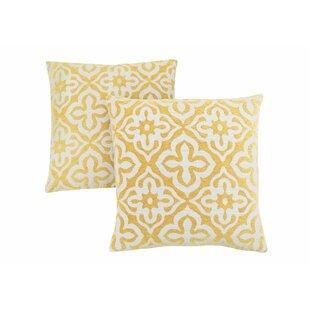 Silpa Contemporary Throw Pillow (Set of 2)