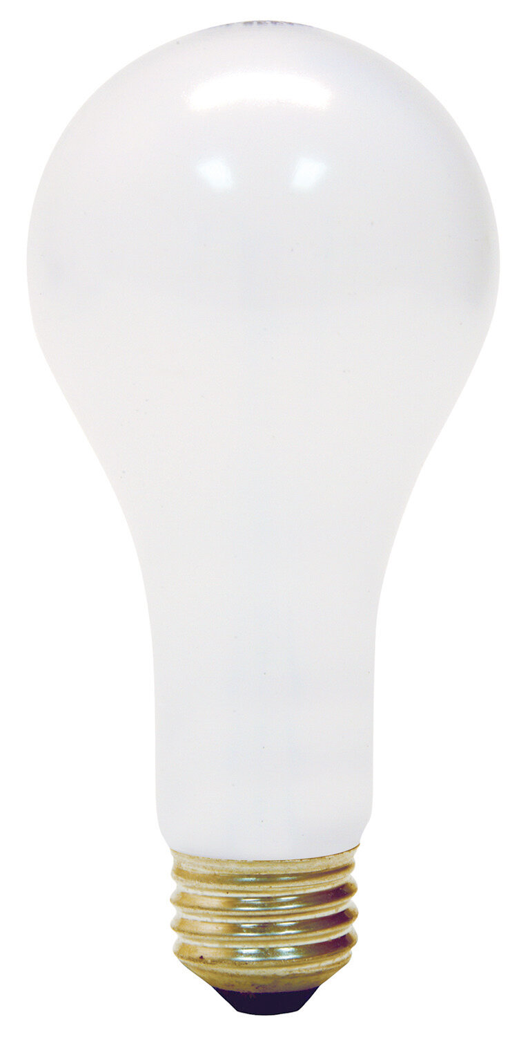 Ge 300w Frosted 130 Volt Incandescent Light Bulb Wayfair